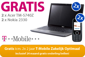 GRATIS 2x Acer TM-5740Z 2x Nokia 2330